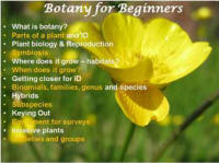 Botany-training